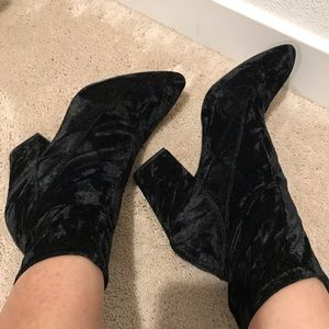 Shoes - Nine West Velvet Sock Boots